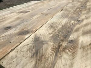 Rustic Scaffold Boards Reclaimed Old Aged Weathered Shelves 3FT Lengths
