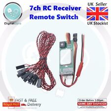 7 Channel Receiver Operated On Off Electronic RC Remote Multi Switch - Rx Tx LED