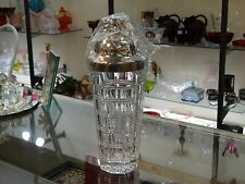 "Reed & Barton ""Darby"" Crystal Martini Shaker by Thomas O'Brien NIB  Retired"