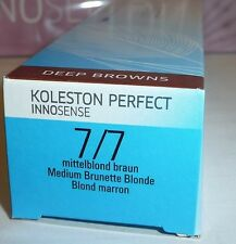 WELLA Koleston Perfect Innosense   7/7 mittelblond braun  60ml
