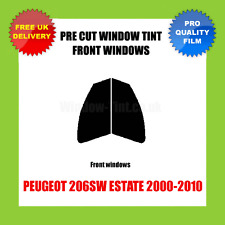 PEUGEOT 206SW ESTATE 2000-2010 FRONT PRE CUT WINDOW TINT KIT