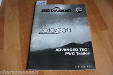 2010 2011 Sea Doo Advanced Tec Pwc Trailer Manual Oem