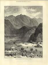 1883 Defile Of Haraza Kordofan Village Encampment