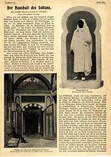 Prof. Dr. Hermann vambéry Budapest el presupuesto del sultán Constantinopla 1900