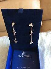 Authentic Swarovski Pierced Earrings New With Package
