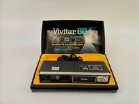 Vivitar 604 Point'n Shoot Pocket Camera 23mm 1:4 E1
