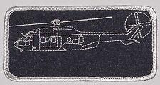 "Patch Patch namemsschild Eurocopter as532u2 ""Cougar"" negro... a3530"