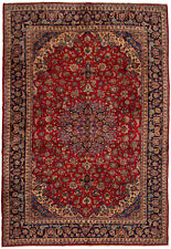 "Hand-knotted Carpet 9'11"" x 14'1"" Traditional Vintage Wool Rug...DISCOUNTED!"