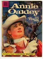 JERRY WEIST ESTATE: ANNIE OAKLEY & TAGG #11 & 14 (Dell 1957-58) NO RES