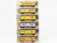 N Scale Micro-Trains Kadee 49012 Merchandise 40' Reefer 6-Pack SEALED - RARE!
