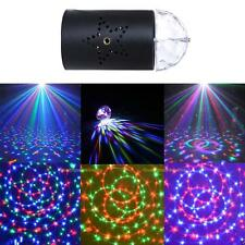 Mini Projector DJ Disco KTV Light Stage R&G Party Laser Lighting Show Plug Black