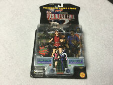 Resident Evil Claire Redfield / Zombie Cop Action Figure Toy Biz New & Boxed