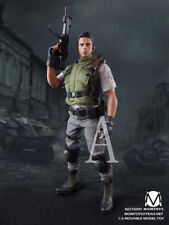 1/6 MomToys Resident Evil Chris Redfield S.T.A.R.S Alpha Ver. Action Figure Mom