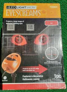 Gemmy EyeScreams Twinkling Red Led Multi-Design Halloween Indoor/Outdoor