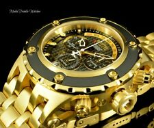 Invicta RESERVE 52MM Specialty Subaqua Swiss Quartz 18K Gold Plated SSteel Watch