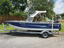 2001 Starcraft 17FT w/ 75HP Mercury EXPORT