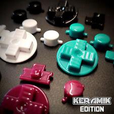 PREMIUM Knöpfe für Nintendo GameBoy Classic DMG - KERAMIK Edition SHINE Buttons