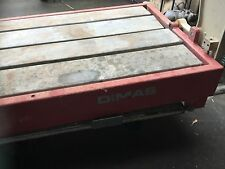 Large heavy Dimas Husqvarna tile saw bridge cutter 5ft bed brick stone 6ft qzzq