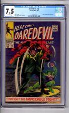 "Daredevil #31 CGC 7.5 OWP "" App...COBRA & Mr..HYDE! Gene Colan C&A!"