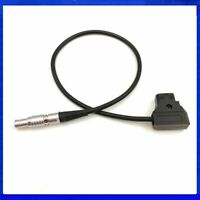 D-TAP To Lemo Male Connector 0B 2pin Power Adapter Cable For Teradek Bolt Pro