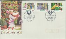 Australia 1992 Christmas. First Day Cover Adelaide Piping Shrike cancel.