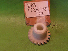 YAMAHA AT1 AT3 CT1 CT3 DT125 HS1 TACHOMETER PLASTIC DRIVE GEAR # 248-17831-02-00