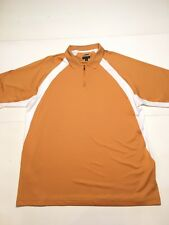 Adidas Mens ClimaCool  Golf Sport Polo Shirt  1/4 zip XL Athletic