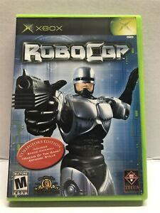 RoboCop (Microsoft Xbox, 2003) Clean & Tested Working - Free Ship