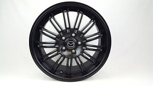 New Genuine Mazda 3 BM BN SP25 18 Inch Black Alloy Kuroi Wheel BM11ACAWB Mazda3