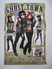 *Lip Service Classic Dagger Logo Ghost Town Two Side Catalog Poster Holiday '09