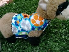 Ferret Harness - Colorful Soccer Balls - M/L