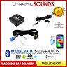 Peugeot 206 307 406 407 607 807 Bluetooth Adapter Streaming Handsfree Calls Car
