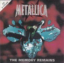 Metallica - The Memory Remains - CD (2 x Track Card Sleeve 1997 Australia)