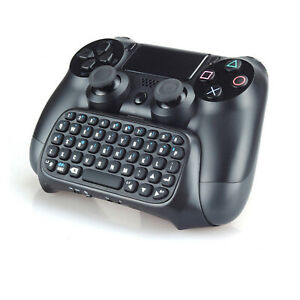 Wireless Handle Keyboard External Keyboard for PS4Controller Accessories