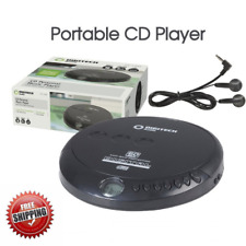 Portable CD Player with Earphones Music Player Walkman  Discman  Disc Anti Skip
