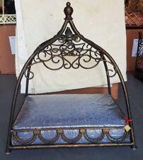 DOG BED CAT bed luxury pet bed WROUGHT IRON  handmade TAJ