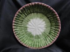 """Fitz & Floyd Asparagus Green & Pink: Dinner Plate (s) 11"""" AS IS, Chipped"""