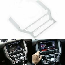 ABS Center Console GPS Switch Button Frame Cover Trim For Ford Mustang 2015-2019