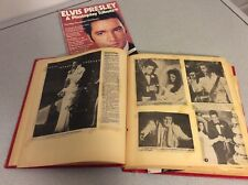 Vintage ELVIS PRESLEY FANS MEMORABILIA ALBUM SCRAPBOOK Newspaper Clippings