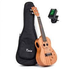 Kmise Concert Ukulele Ukelele Uku 23 inch Hawaii Guitar Mahogany with Bag Tuner