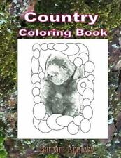 Country Coloring Book by Barbara Appleby (2015, Paperback)