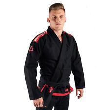 Manto Everyday Porrada BJJ Gi Black Brazilian Jiu Jitsu Uniform Kimono Gi