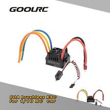 GoolRC 80A 2~4S LiPo Battery ESC for 1/8 RC Car safety 85GK