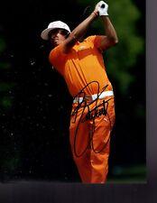 RICKIE FOWLER PGA STAR SIGNED 8X10 PHOTO W/COA #11