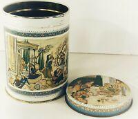 Ben Rickert bath product Empty tin canister reproductions of rare Persian art