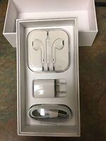 I Phone Combo 6/6s Cable,headphones And House Plug Original Quality