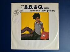 "The B.B. & Q. Band – Keep It Hot (Vinyl 12"", Maxi 45 Tours)"
