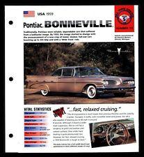 #pha.034579 Photo PONTIAC BONNEVILLE VISTA 1959