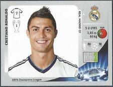 PANINI UEFA CHAMPIONS LEAGUE 2012-13- #242-REAL MADRID-CRISTIANO RONALDO