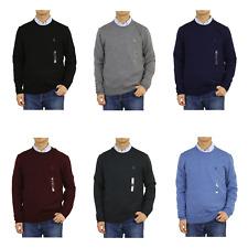 "Polo Ralph Lauren Crew Pullover ""Washable Merino Wool"" Sweater -- 6 colors"